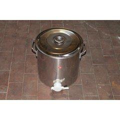 Maturator inox alimentar cu manere si canea plastic 30 kg