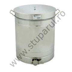 Maturator inox canea inox 200kg miere 150 litri cu manere Lyson