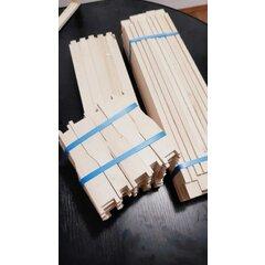 Rame stupi 1/2 tei, model canadian simplificat pentru faguri ceara, pachet 25 buc