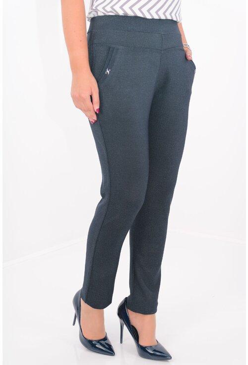 Pantaloni bleumarin cu buzunare