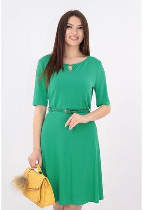Rochie clos verde