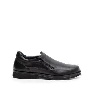 Pantofi casual barbati din piele naturala,Leofex - 964 Negru box