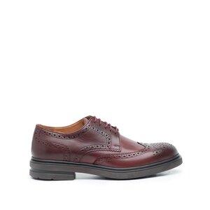 Pantofi casual barbati din piele naturala Leofex- 996 Visiniu Box