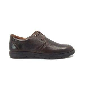 Pantofi casual barbati din piele naturala, Leofex - Mostra Iulian maro box