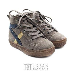 Pantofi copii din piele naturala, Leofex – 104 taupe velur