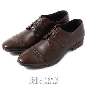 Pantofi eleganti barbati din piele naturala, Leofex - 115-2 ciocolata box