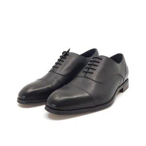 Pantofi eleganti barbati din piele naturala, Leofex - 579 negru