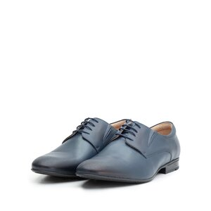 Pantofi eleganti barbati din piele naturala, Leofex - 792 blue box