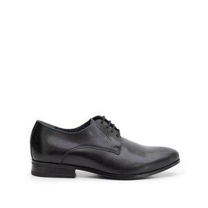 Pantofi eleganti barbati din piele naturala,Leofex - 831 negru box