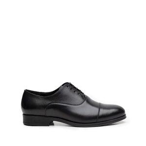 Pantofi eleganti  barbati din piele naturala, Leofex - 890-1 Negru Box