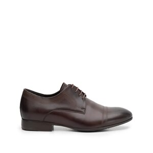 Pantofi eleganti barbati din piele naturala,Leofex - 896 Mogano box