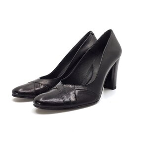Pantofi eleganti dama din piele naturala-033 Negru Box