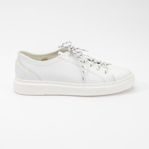 Pantofi sport barbati din piele naturala Leofex - 882-1  Alb box