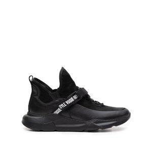 Sneakers dama din piele naturala,Leofex-288 negru Box Velur